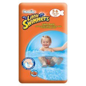 پوشک استخری بچه هاگیز (Huggies) سایز 5 و 6 برای کودکان 12 تا 18 کیلوگرم
