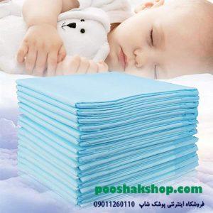 استفاده از پد های زیرانداز بهداشتی برای تعویض بچه و بزرگسال