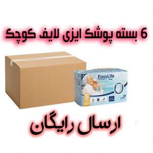 یک کارتن پوشک بزرگسال شورتی ایزی لایف سایز کوچک - اسمال با ارسال رایگان در تهران و کرج