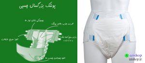 تفاوت پوشک بزرگسال چسبی و شورتی